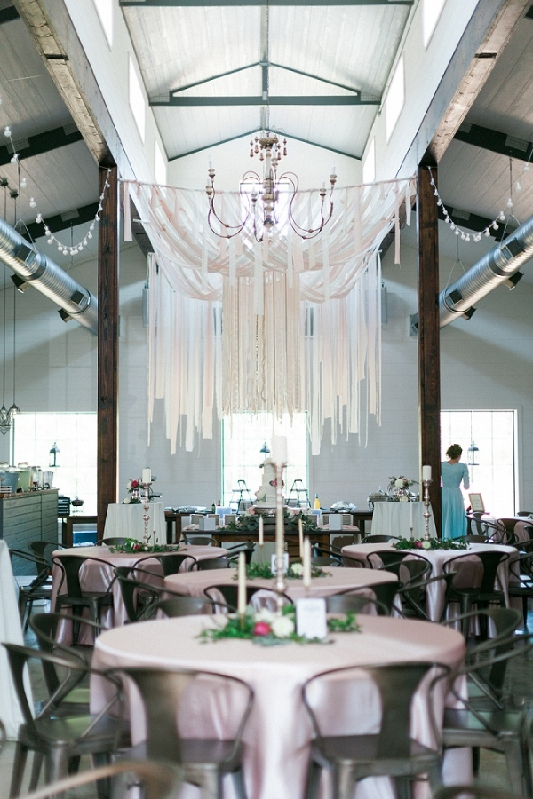 Amazing DIY wedding held in a modern barn!