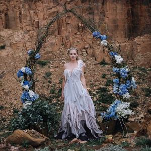 Boho Floral Wedding Arch