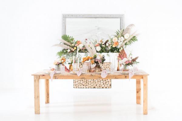 Dreamy Rustic Fall Table Decor