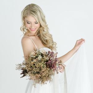 Romantic Dried Flower Bouquet