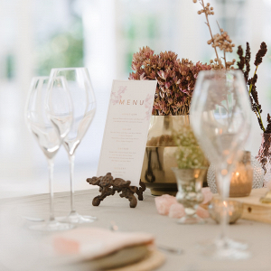 Soft Autumnal Table Decor