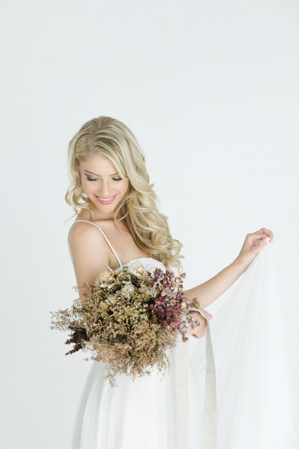 Romantic Dried Flower Bouquet