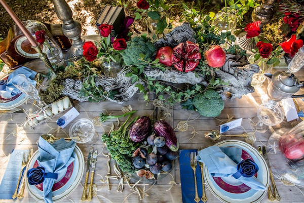 Beauty & the Beast Tablescape