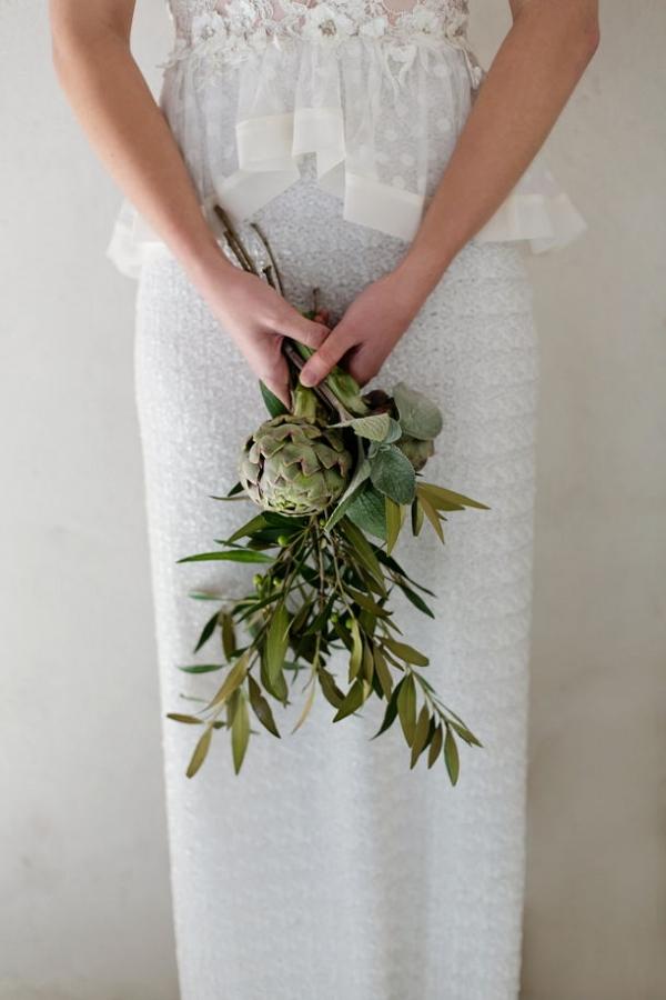 Simple artichoke bouquet