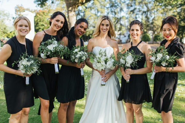 Little Black Dress Bridesmaids