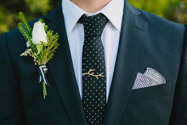 Groom with Mixed Patterns