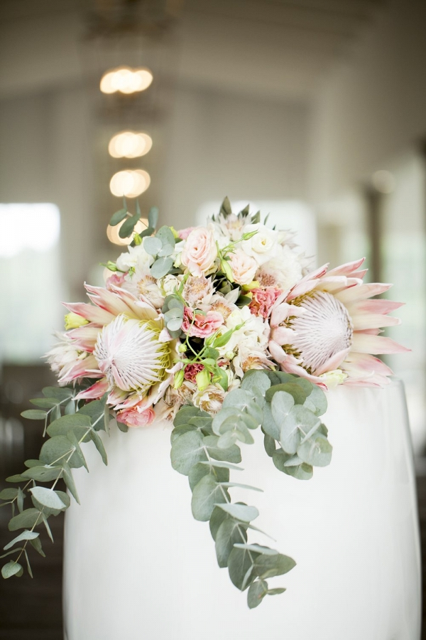 Blushing Bride Protea Wedding Aisle Society
