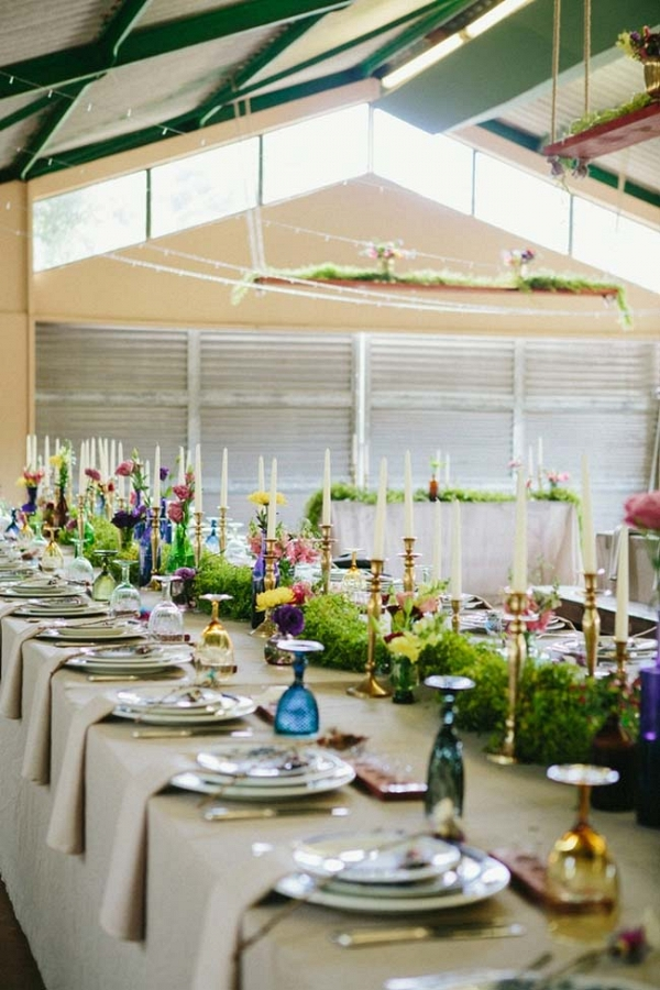 Colorful Wedding Tables