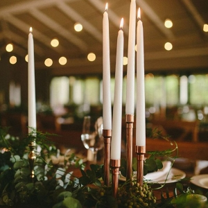 Copper Piping Candleholders