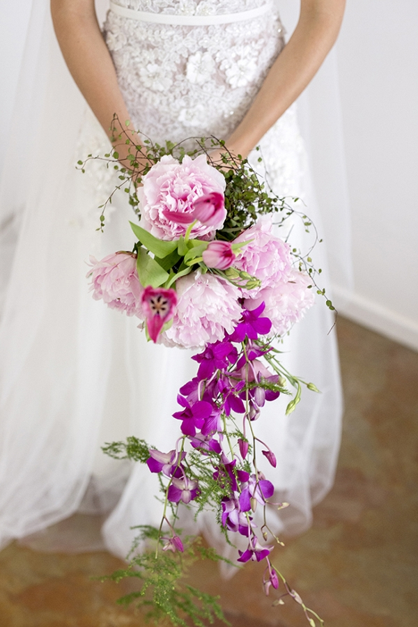 Peony & Orchid Bouquet