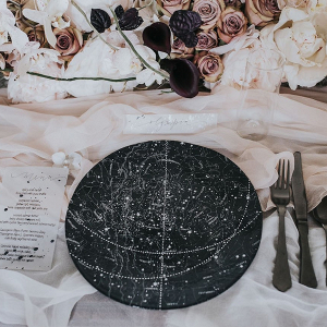 Celestial Themed Table Decor