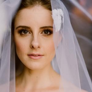 Bride in Heirloom Veil