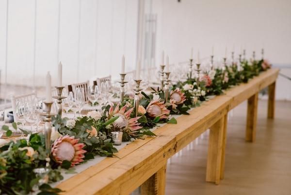 Protea Floral Runner