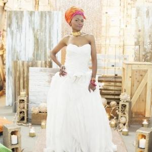 Modern African bride