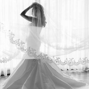Trumpet Silhouette Wedding Dress