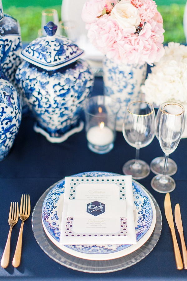 Delftware Place Setting