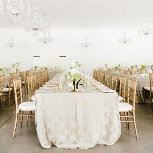 Contemporary elegant reception