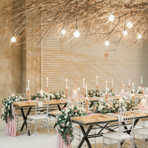 Romantic Rustic Wedding Decor