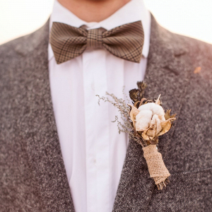Tweed Suit and Bow Tie