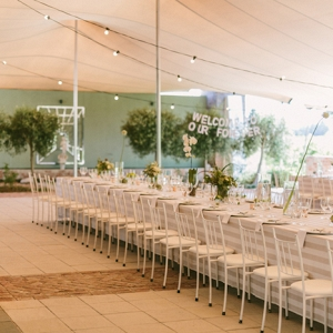 Marquee Reception