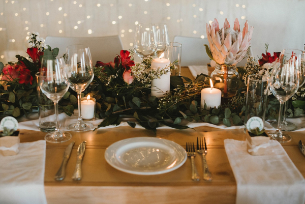 Cozy Rustic Place Setting