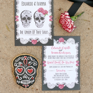 Day of the Dead Invitation Suite