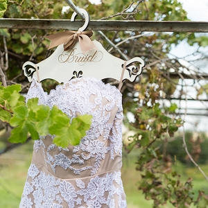Nude Lace Wedding Dress