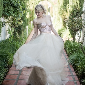 Dreamy Janita Toerien wedding gown
