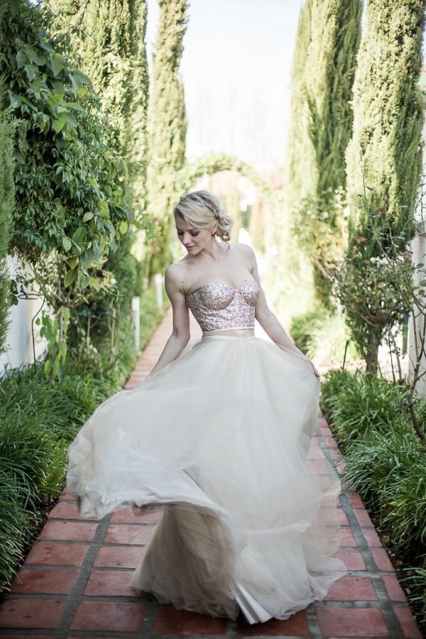 Dreamy Janita Toerien wedding gown