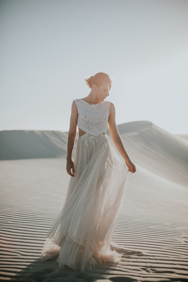 Dreamy Desert Wedding Dress