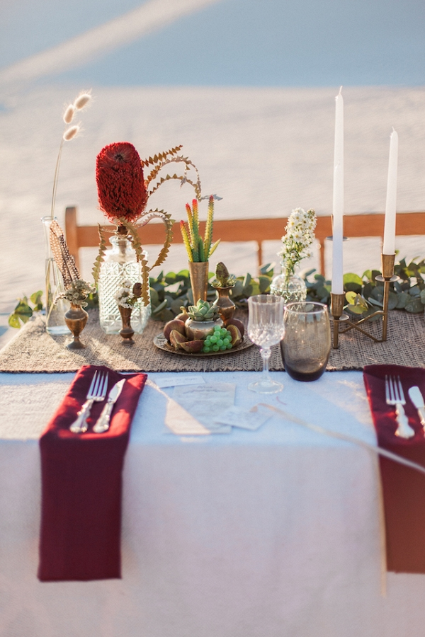 Desert Chic Table Decor