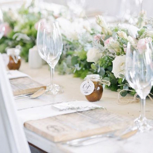 Romantic Rustic Place Setting