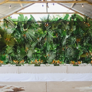 Tropical Greenery Wall
