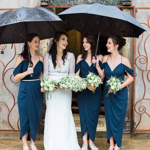 Rainy Day Bridesmaids