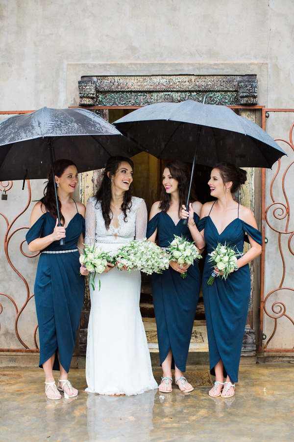 Rainy Day Bridesmaids