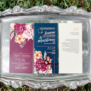 Jewel Tone Invitation Suite