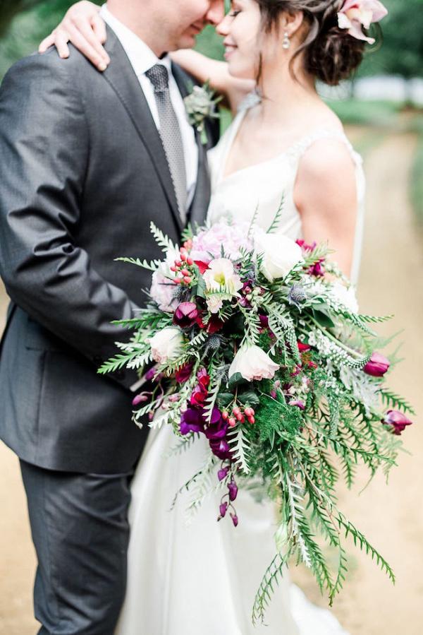 Jewel Tone Bouquet
