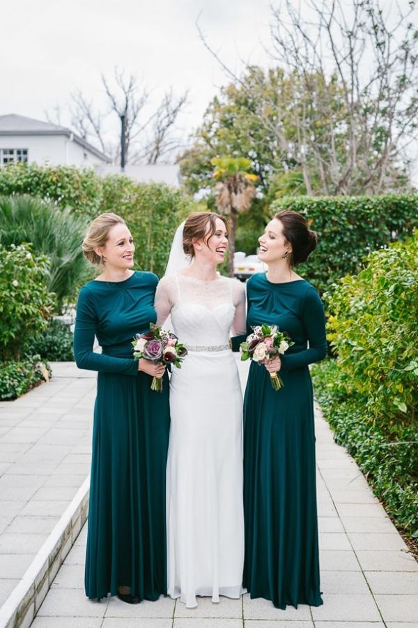 Elegant Winter Wedding At An Historic Town Hall Aisle