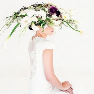 Opulent Floral Hat