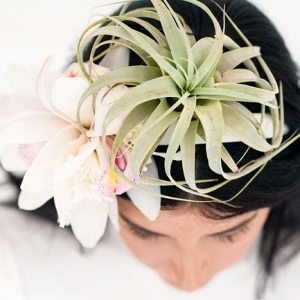 Real Floral Hairpiece