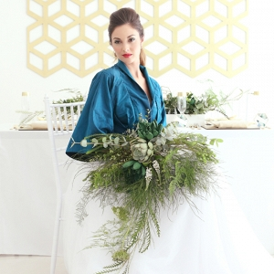 Oversize Organic Greenery Bouquet