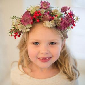 Cute Flower Girl