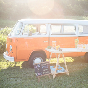 VW Camper Gin Bar