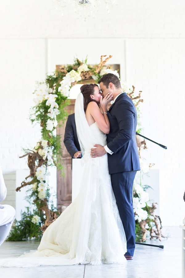 Wood & Floral Ceremony Arch