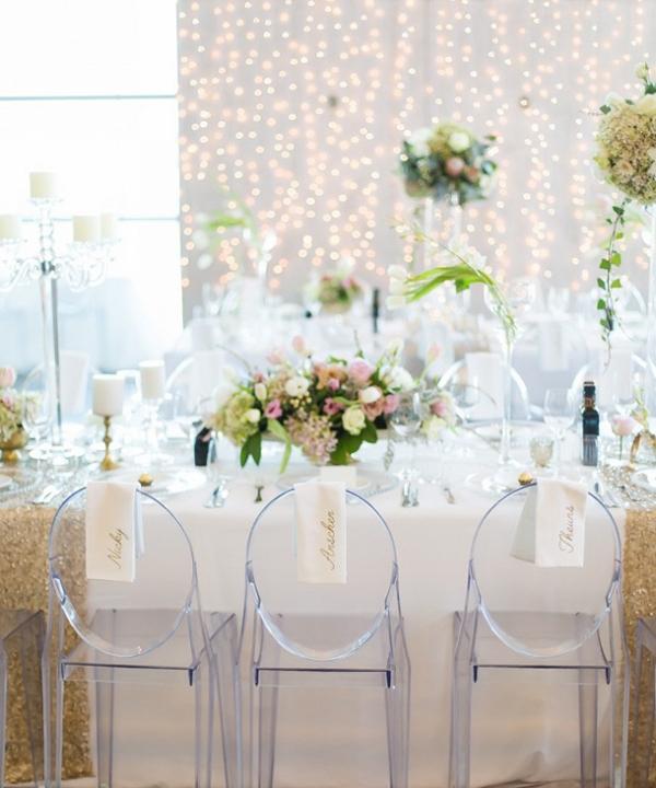 Glamorous Pastel Tablescape