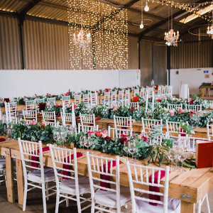 Rustic Glam Reception Decor