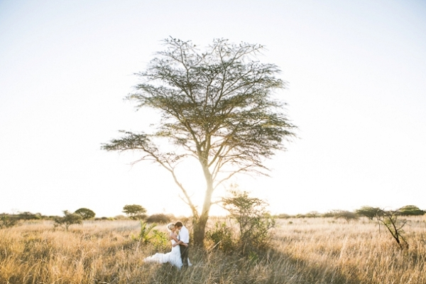 Safari Couple Portrait