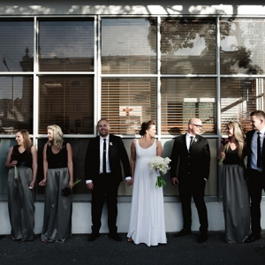 City Wedding Bridal Party