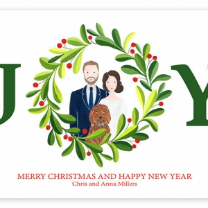 Custom Christmas Card