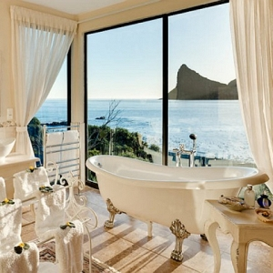 Tintswalo Atlantic Bathtub View